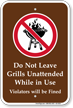 Campground, Park & Guide Sign