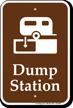 Dump Station Sign