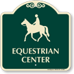 Equestrian Center Signature Sign