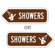 Showers Campground Sign