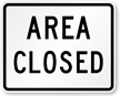 Area Closed