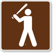 Baseball, MUTCD Guide Sign for Campground