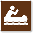 Canoeing, MUTCD Guide Sign for Campground