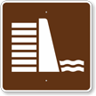 Dam, MUTCD Guide Sign for Campground
