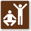 Exercise or Fitness, MUTCD Campground Guide Sign