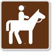 Horse Trail, MUTCD Guide Sign for Campground