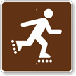 In-Line Skating, MUTCD Guide Sign for Campground
