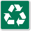 Recycling, MUTCD Guide Sign for Campground