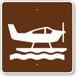 Sea Plane, MUTCD Guide Sign for Campground
