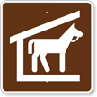 Stable, MUTCD Guide Sign for Campground