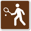 Tennis, MUTCD Guide Sign for Campground
