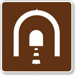 Tunnel, MUTCD Guide Sign for Campground