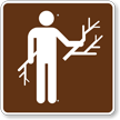 Wood Gathering, MUTCD Guide Sign for Campground