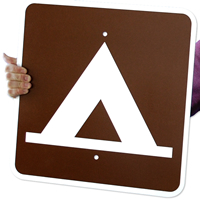Camping (Tent) Symbol - Traffic Signs
